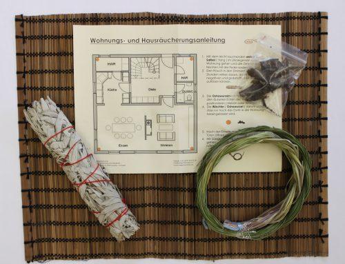 Haus- und Wohnungsräucherset zum selber Räuchern