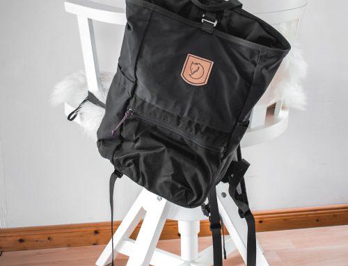 Es war für mich eine total neue Erfahrung meinen Rucksack zu leeren